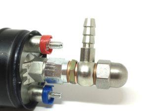 Anschlussfitting Motorsport Kraftstoffpumpe an 8mm Benzinleitung